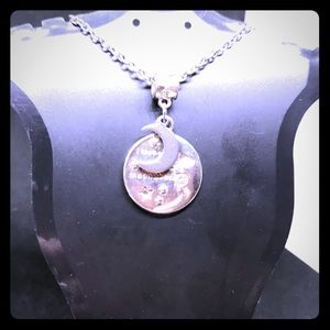 "Jewelry - NIP ""I love you to the moon"" pendant necklace"